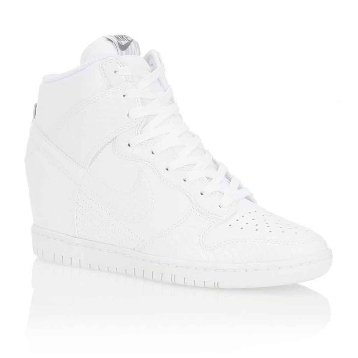 nike baskets dunk sky hi femme femme blanc achat vente nike baskets wmns dunk sky hi femme. Black Bedroom Furniture Sets. Home Design Ideas