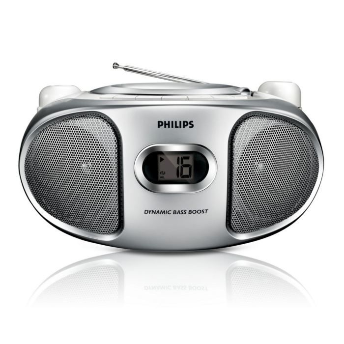 philips az105s lecteur cd radio portable radio cd cassette avis et prix pas cher cdiscount. Black Bedroom Furniture Sets. Home Design Ideas
