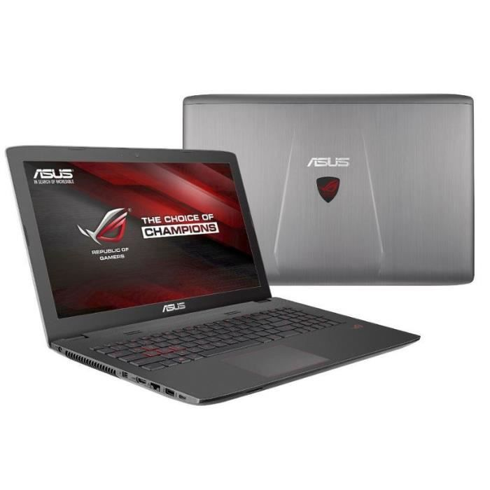 asus pc portable gamer reconditionn gl752vw t4005t cran. Black Bedroom Furniture Sets. Home Design Ideas