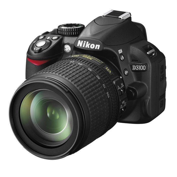 APPAREIL PHOTO RÉFLEX Reflex Nikon D3100 + AF-S VR 18-105mm