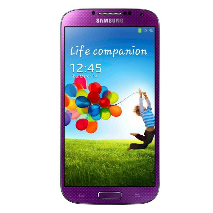 samsung galaxy s4 violet achat smartphone pas cher avis. Black Bedroom Furniture Sets. Home Design Ideas