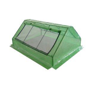 Mini serre de jardin châssis semis 2,5m² plastique - Achat ...