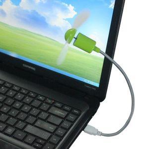 6 Couleurs Portable Flexible USB Mini Cooling Fan Cooler pour PC portable Ordinateur