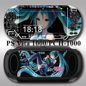 STICKER - SKIN CONSOLE Hatsune Miku Black Vinyl Skin Stickers pour PS Vit
