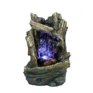 FONTAINE INTÉRIEURE Grande fontaine d'intérieur  Iimitation bois et ch