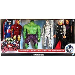 Tous sont 12 pouces avengers Titan Hero série FX Captain America et Iron Man.. Thor