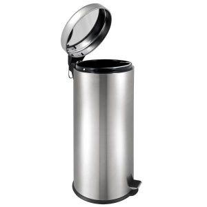 POUBELLE - CORBEILLE Bremer Poubelle à pédale homme de 30 litres avec d