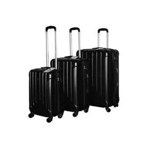 SET DE VALISES set de 3 valises polycarbonate ABS  colori NOIR