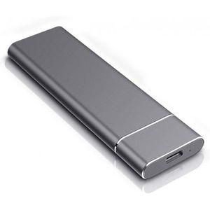 rouge-2 To ordinateur portable Mac ordinateur de bureau Disque dur externe portable de 1 To de 2 To disque dur externe ultra fin compatible pour PC