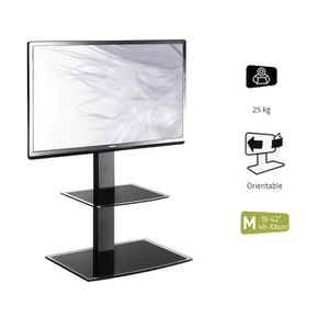 meuble tv avec support achat vente meuble tv avec support pas cher cdiscount. Black Bedroom Furniture Sets. Home Design Ideas