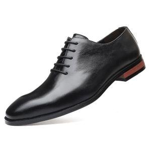 DERBY Chaussures Derby Homme PU Cuir Crocodile Imprimé C