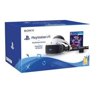 CONSOLE PS4 PLAYSTATION VR V2 + CAMERA + VR WORLDS