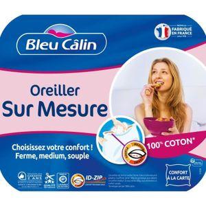 OREILLER BLEU CALIN Oreiller Sur Mesure 60x60cm