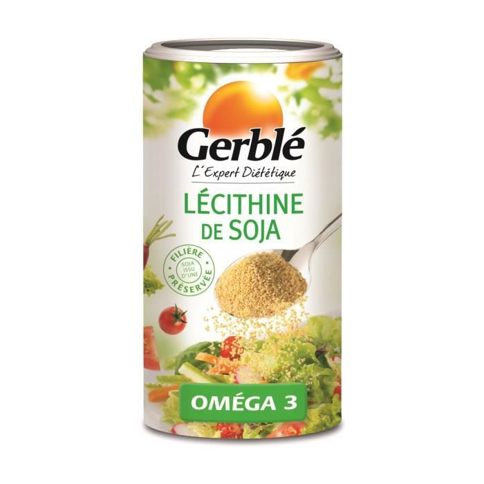 SEL GERBLE Lécithine de soja - 175 g