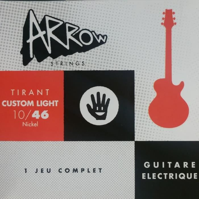 ARROW AR-ELCL Jeu électrique tirant Custom Light