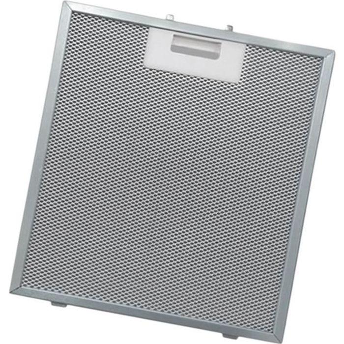 Filtre métal anti graisse (à l'unité) - Hotte - ARTHUR MARTIN ELECTROLUX, FAURE (996)