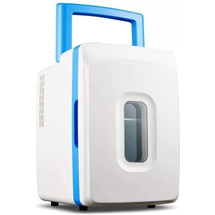Mini réfrigérateur 12L ménage petit réfrigérateur réfrigération double usage portable voiture utiliser petit réfrigérateur, 37 [339]