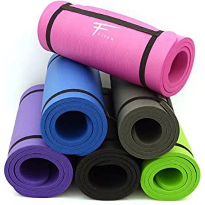 Tapis De Sol Ultra-Epais En Mousse Confort Haute Densité Nbr - 183 X 60 X 1,5 Cm Ou 1 Cm - Pour Gym,Yoga, Sport, Gymnastique,