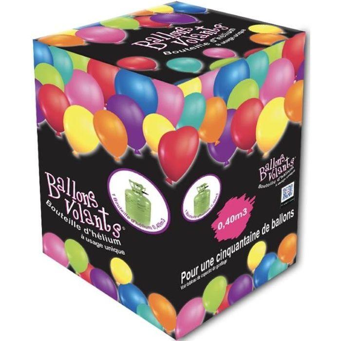 Bouteille d'hélium jetable pour 50 ballons