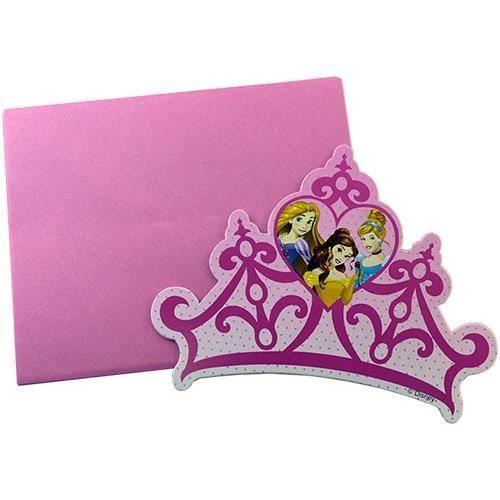 Cartons d Invitation Princesses