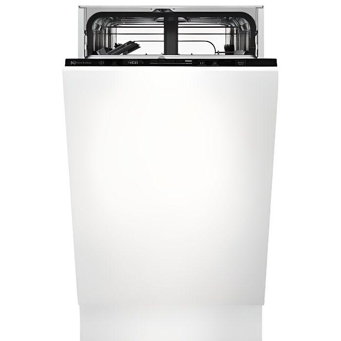 Lave-vaisselle encastrable ELECTROLUX EES42210L - 9 couverts - Induction - L45cm - 44dB