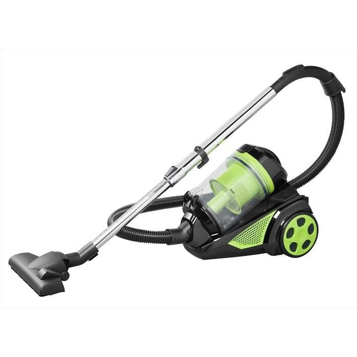 KLAISER Aspirateur Sans Sac - 2500W - Multi Cyclone Alligator Xtreme Force - Pure Air - Ultra Confort - Cordon Extra Long 7 Mètres