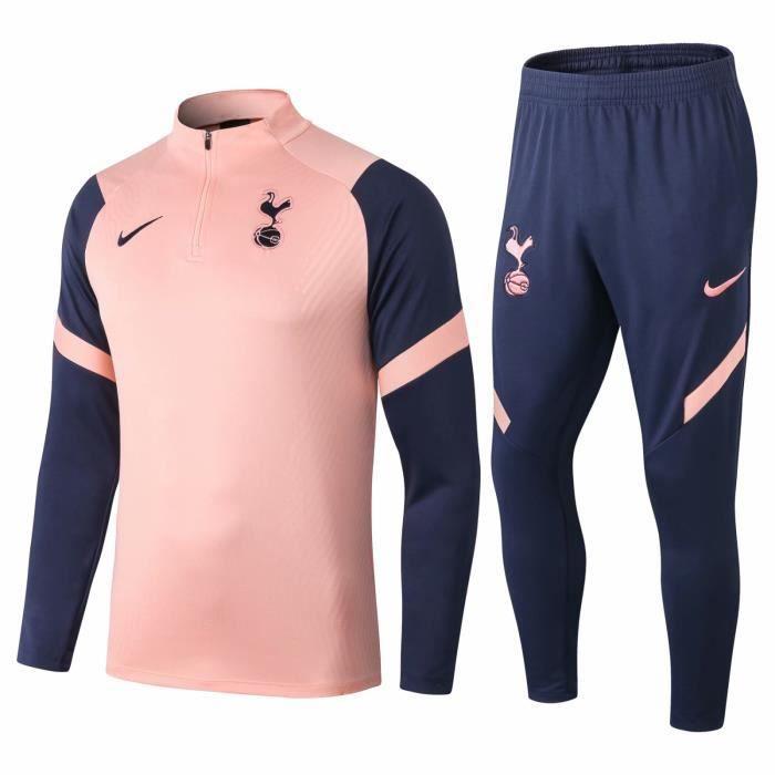 Nouveau Survetement Tottenham Maillot de Foot Football Soccer Suit 2020 2021 Pas Cher Survet Training pour Homme