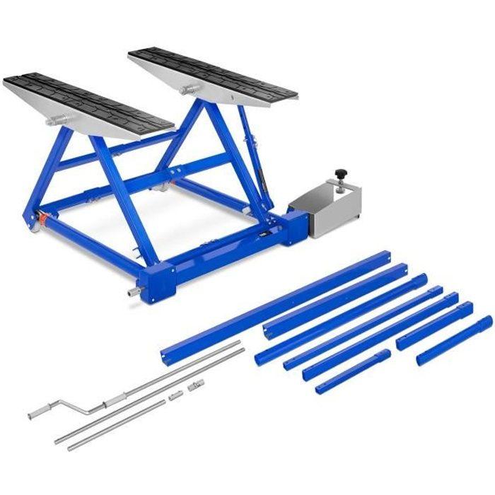 Table Élévatrice Mobile Plateforme Pont Basculant Automobile MSW-HB-1500 (3 L Capacité 15 T Levage De 150 à 585mm Manivelle)