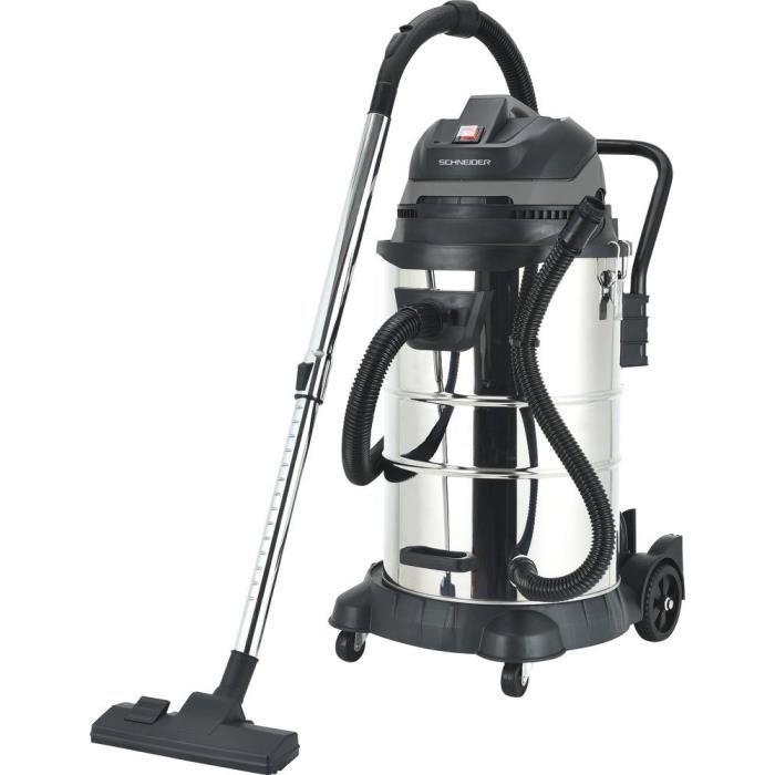 Aspirateur eau et poussière 50L Schneider 50006