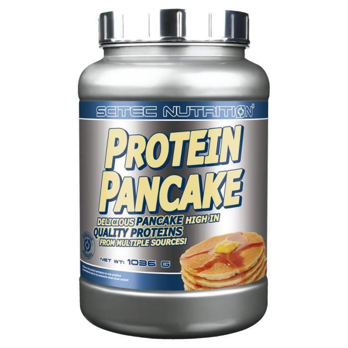 SCITEC - Protein Pancake 1036 g - Chocolat Blanc - Noix de Coco