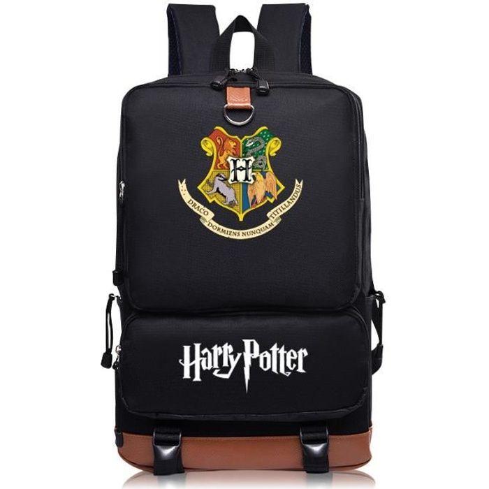 MOBIGARLAN Sac à Dos - Sac d'École cartable étudiant Harry Potter imprimé pour enfant adolescent modèle 24