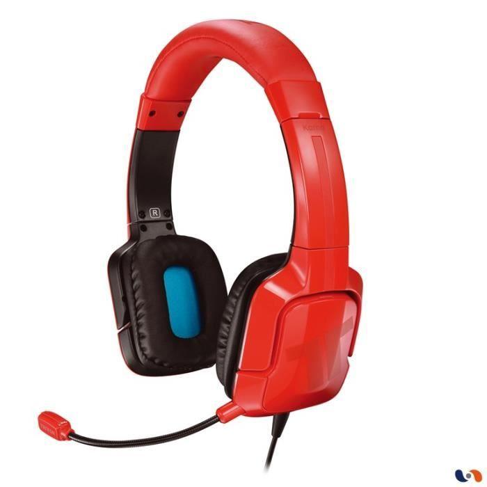 Casque Filaire Tritton Kama PS4 Rouge