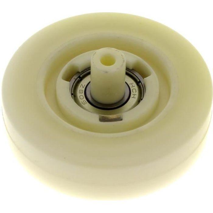 Roulette de tambour pour Seche-linge Laden, Lave-linge Whirlpool, Seche-linge Whirlpool, Seche-linge Ignis - 3665392176060
