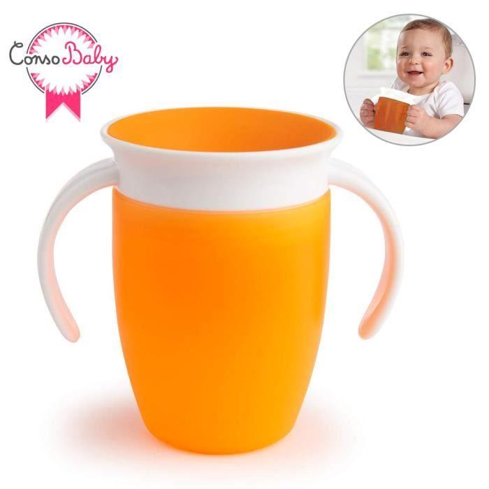 Munchkin Tasse dapprentissage Miracle 200/ml