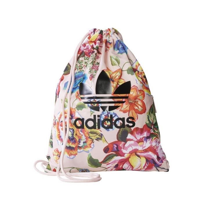 Floral Grand De Gym Sac Adidas Rose OPknw0