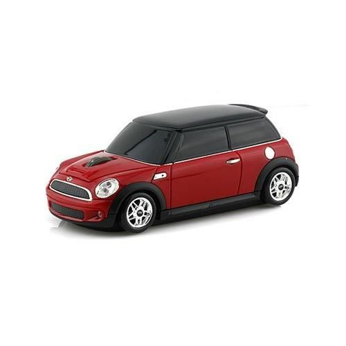 souris sans fil voiture mini cooper rouge prix pas cher cdiscount. Black Bedroom Furniture Sets. Home Design Ideas