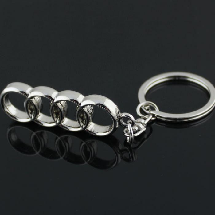 Porte clefs en INOX pour Audi