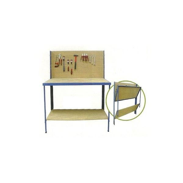 etabli pliant table rangement mural des outils achat. Black Bedroom Furniture Sets. Home Design Ideas