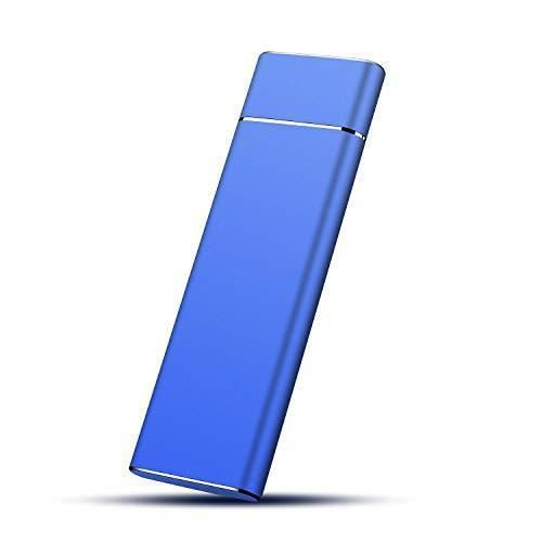Windows Disque Dur Externe Aluminium Stockage HDD USB3.1//Type C pour Mac Disque Dur Externe 1to 1to,Bleu PC Laptop Xbox One