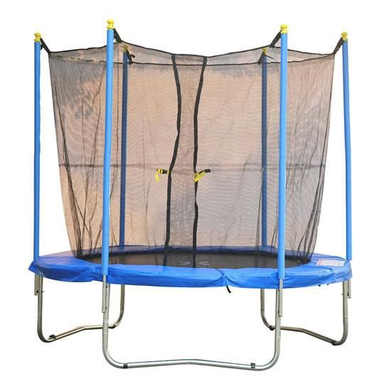 6 5ft trampoline de jardin 198cm avec filet de pr achat vente trampoline soldes d t. Black Bedroom Furniture Sets. Home Design Ideas