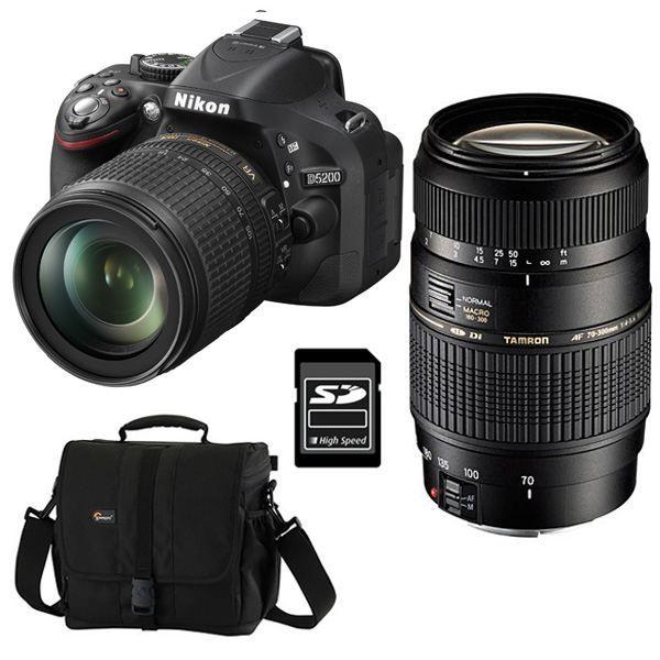 Nikon D5200 Objectif Af S Dx 18 105mm 35 56 Achat