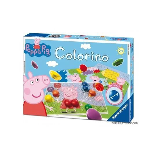 peppa pig colorino achat vente jeu d 39 apprentissage cdiscount. Black Bedroom Furniture Sets. Home Design Ideas