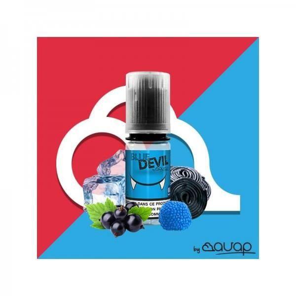 LIQUIDE 10x E-liquide Blue Devil de Avap en 8mg