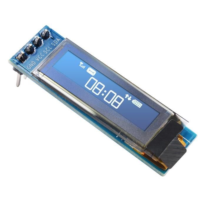 XCSOURCE 0.91 SPI Serial 128X64 White OLED LCD LED Display Module for Arduino TE666