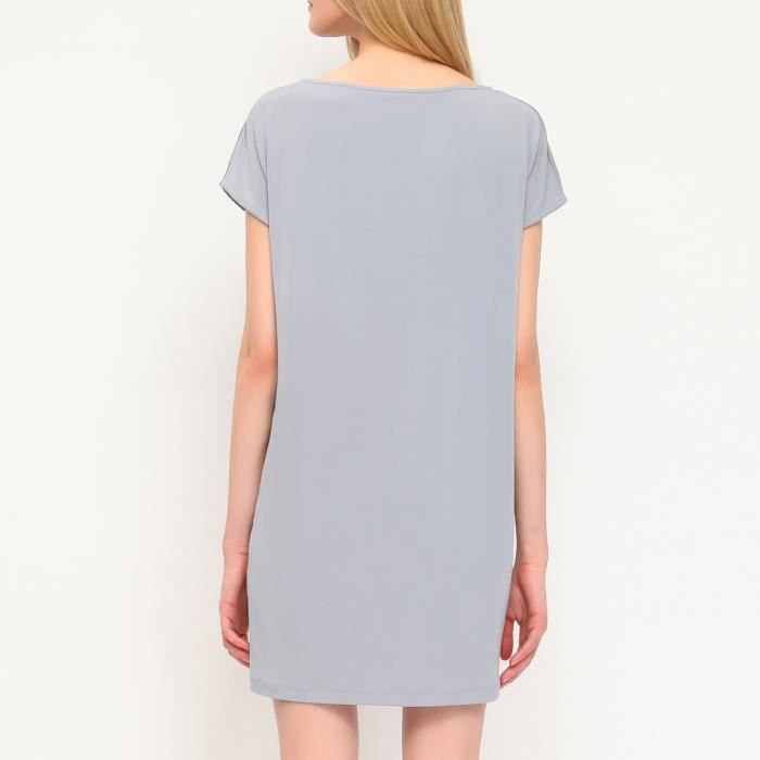 Top Secret Robe gris Femme