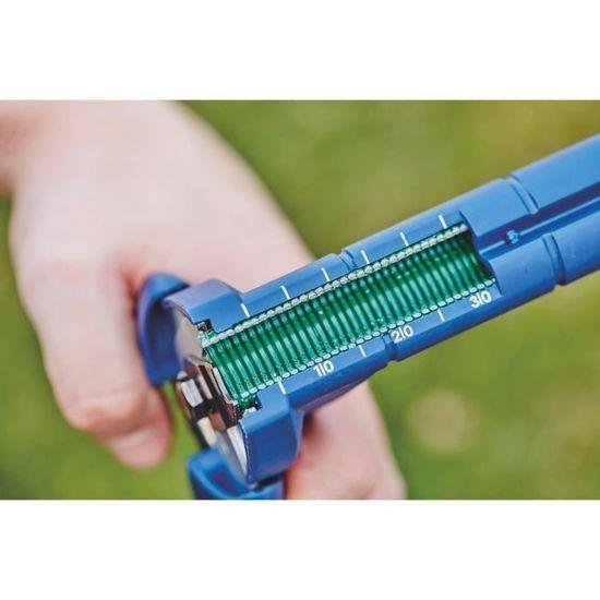 Avec chargeur rapide 40303112 FP222 Kit pince /à grillage 200 agrafes incluses Rapid