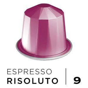 CAFÉ BELMIO Café Espresso Risoluto Intensité 9 - Compat