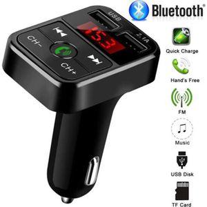 TRANSMETTEUR FM Transmetteur FM Bluetooth pour voiture Adaptateur