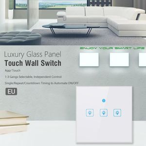 INTERRUPTEUR Bouton-poussoir à trois voies EU Smart WiFi pour A