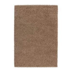 tapis tapis de salon marron clair shaggy 50 mm moderne d - Tapis Marron